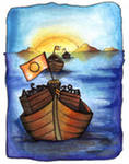 Al pasar la barca