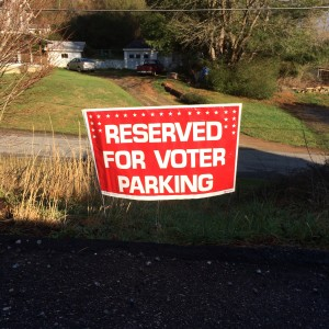 parking for voters